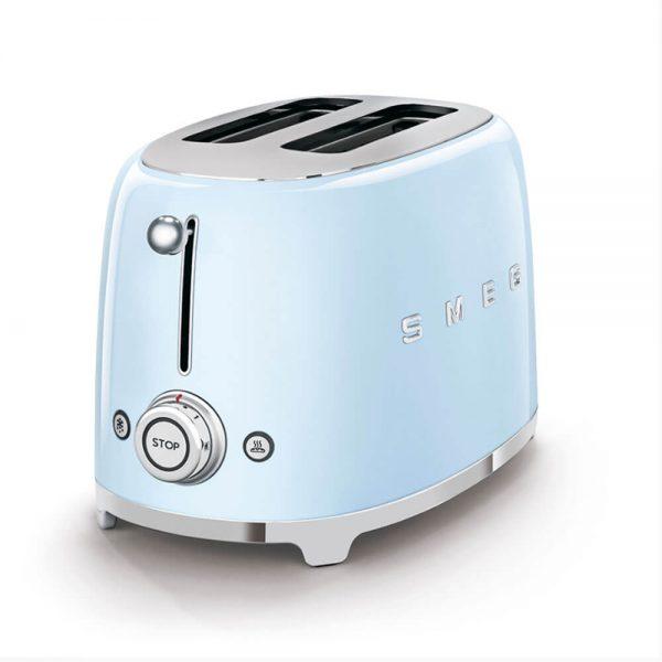 Smeg Pastel Mavi Ekmek Kızartma Makinesi