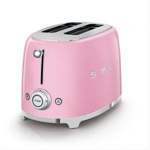 Smeg Pembe Ekmek Kızartma Makinesi